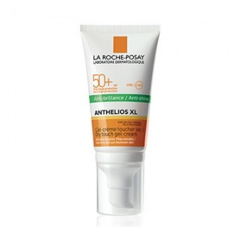 Anthelios XL Gel Crema Toque Seco SPF 50+ Sin Perfume 50 ml