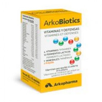 ARKOBIOTICS VIT Y DEFENSAS ADULTO 30COMP