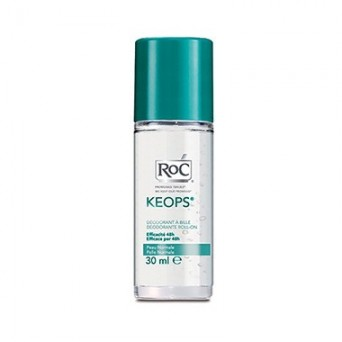 Roc Keops Desodorante Sin Alcohol Roll-On 2 x 30 ml