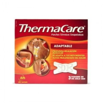 THERMACARE ADAPTABLE 3 PARCHES