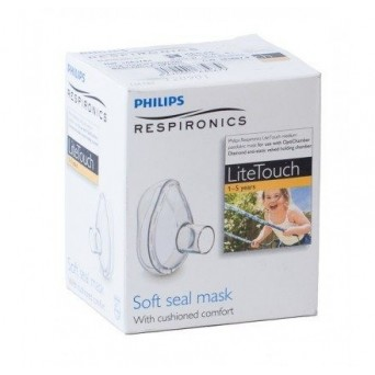 MASCARILLA INHALACION LITE TOUCH DIAMOND NEONATO