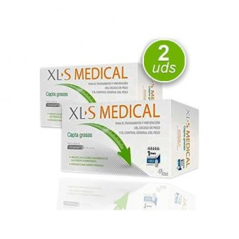 Pack XLS Medical Captagrasas 180 Comprimidos x 2