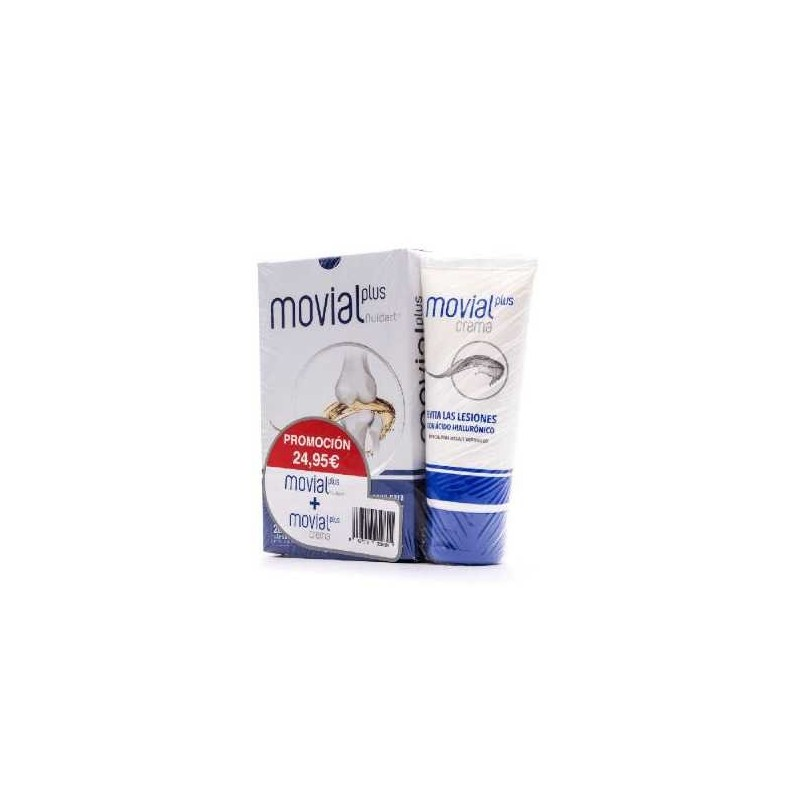 MOVIAL PLUS FLUIDART 28 CAPSULAS + CREMA MOVIAL PLUS 100 ML